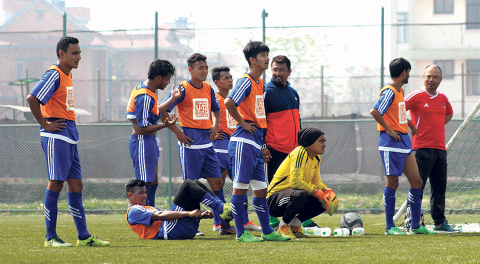 Nepal announces 20-man squad for last round of AFC Asian Qualifiers