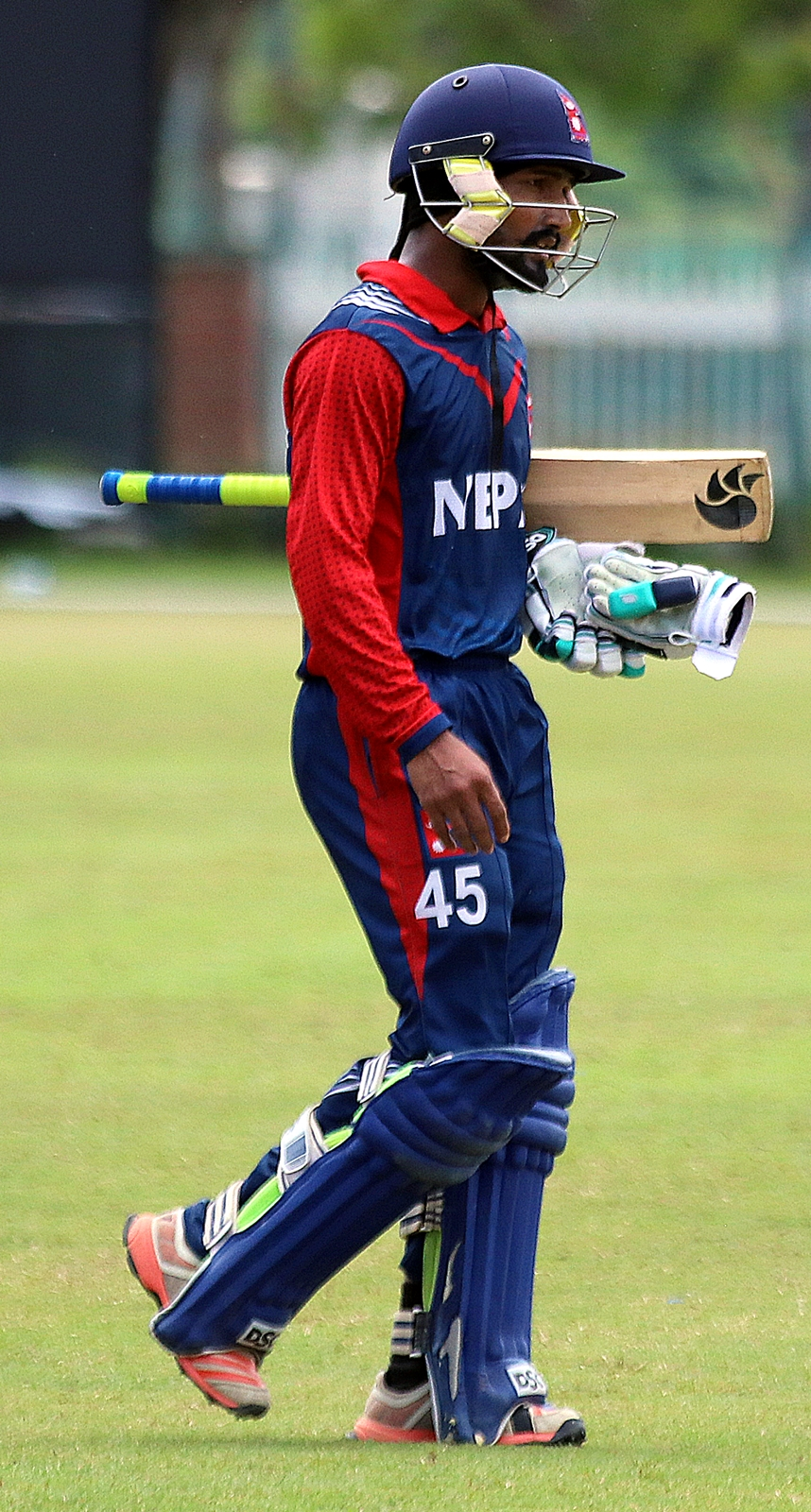 Dipendra Singh Airee during Youth Asia Cup