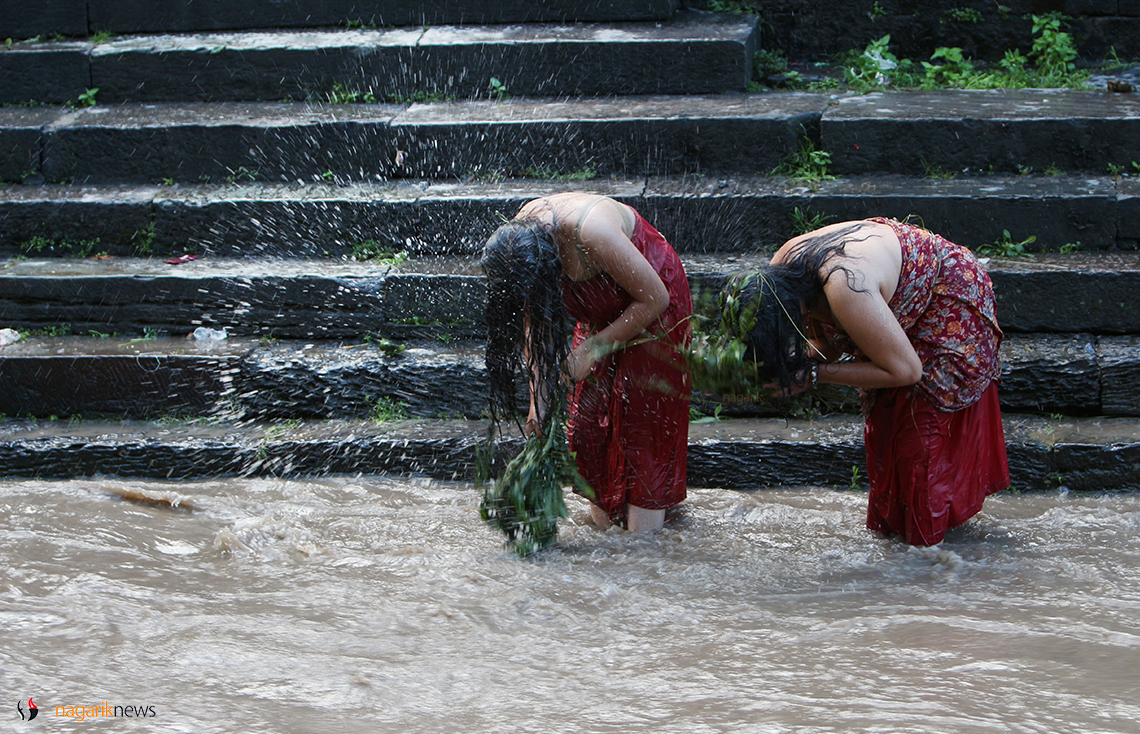 Celebrating  Rishi Panchami (Photo feature)