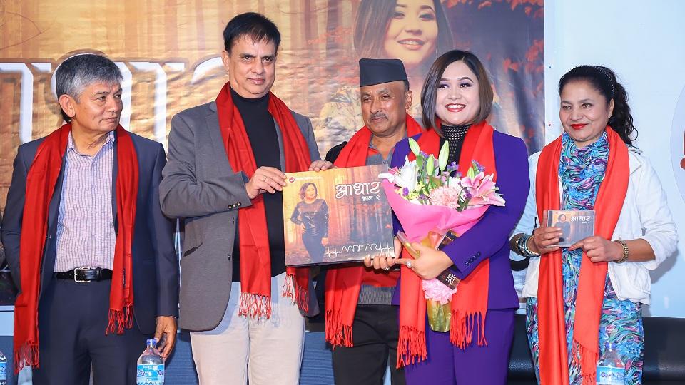 Astha Raut launches 'Aadhar 2'