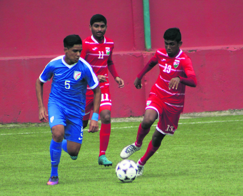 India registers thumping 9-0 win over Maldives