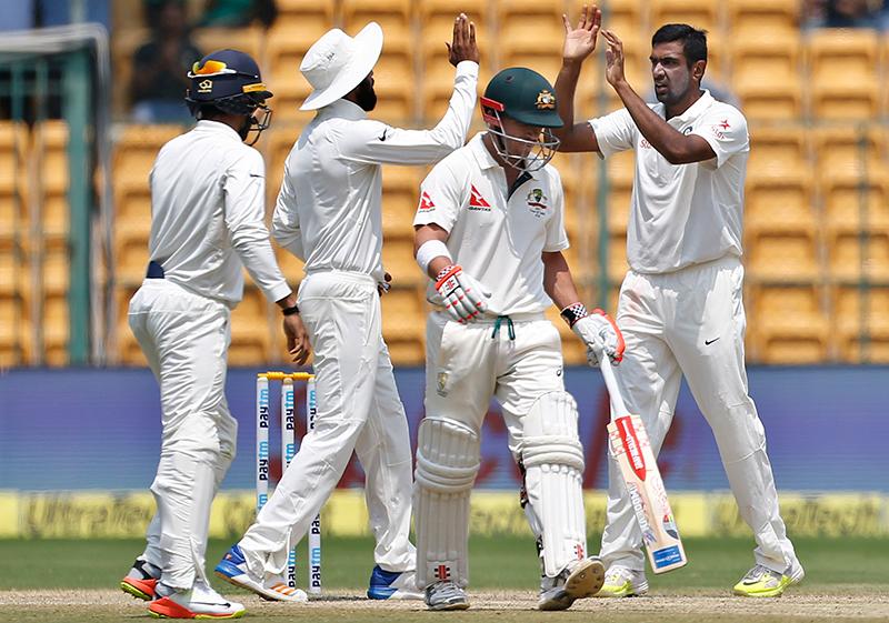 India wins 2nd test by 75 runs, levels series vs Australia