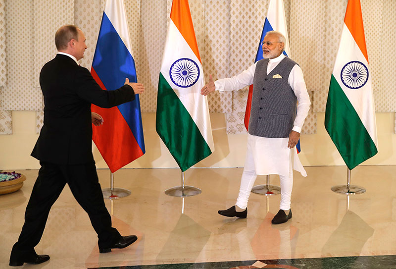 Putin, Modi hold talks to remove irritants in relationship