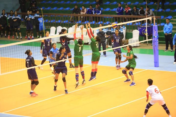 India thrashes B'desh, Nepal enters semis