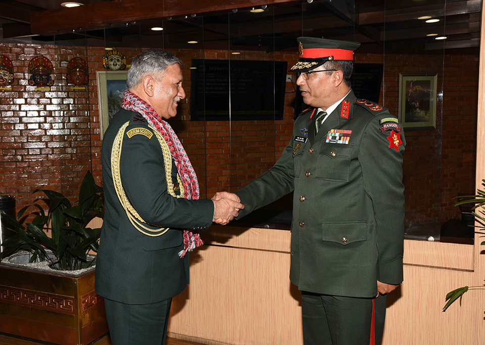 Indian army chief wraps up his Nepal visit