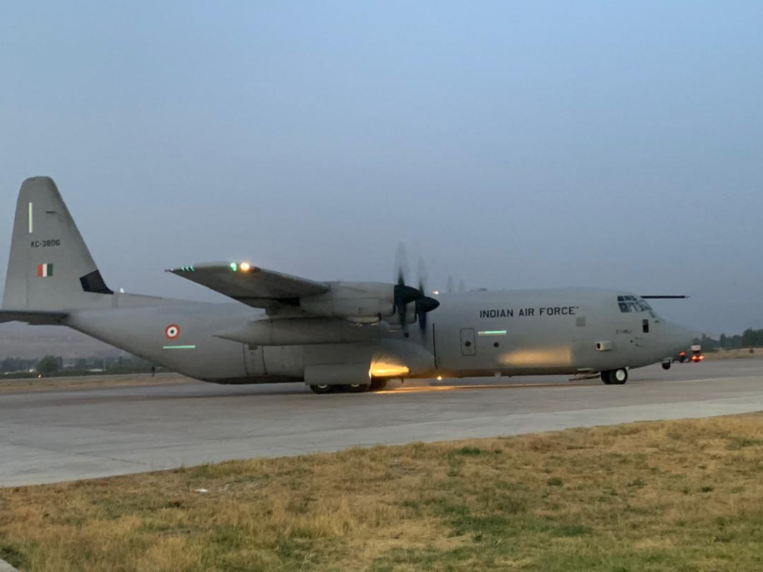 Two Nepali nationals evacuated in an IAF aircraft from Kabul