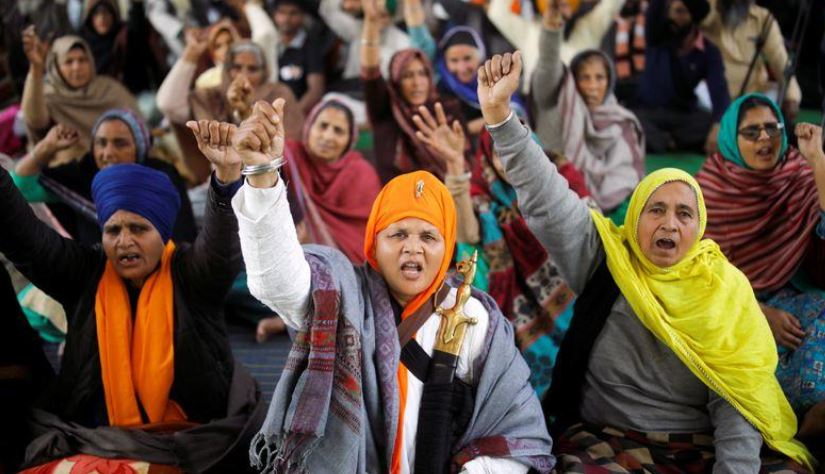 Modi breaks silence on months long farm protests