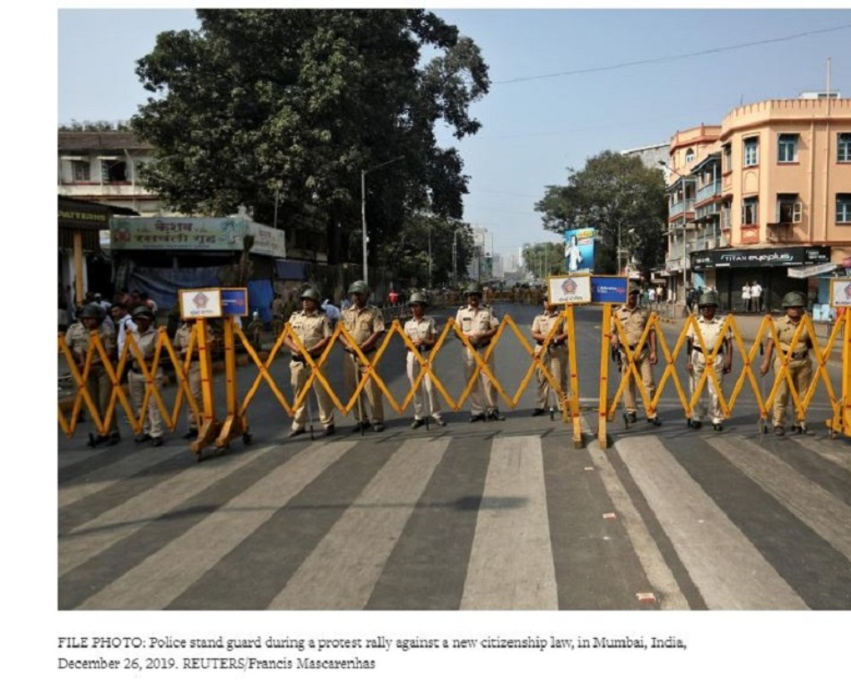 India tightens security for protests after Friday prayers