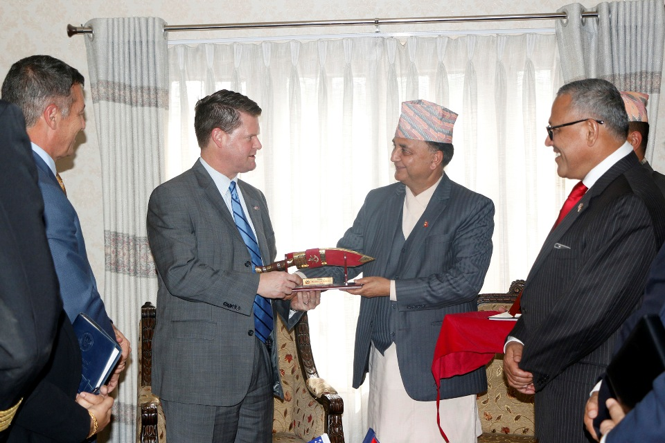 US Assistant Secretary for Indo-Pacific Security Affairs urges Nepal to be positive towards Indo Pacific Strategy