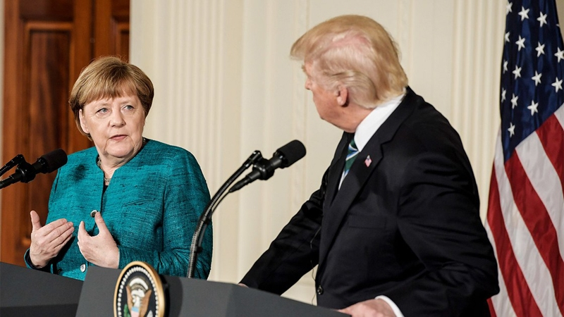 Infographics: G20 members more confident in Merkel than Trump