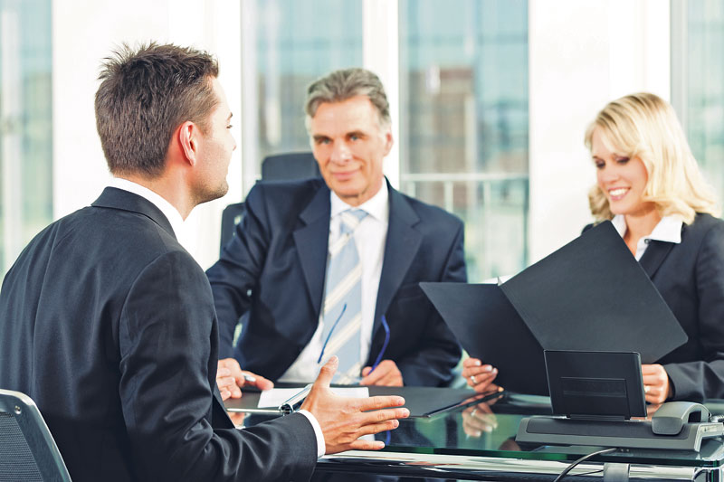 Making a great first impression at an interview