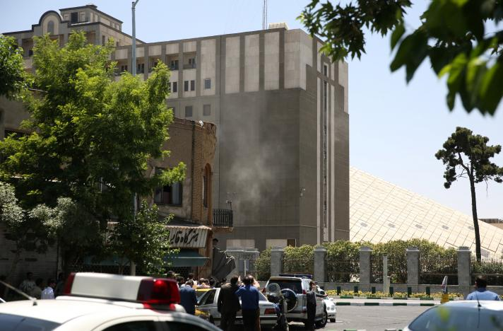 Attackers raid Iran parliament and mausoleum, up to seven dead: Iranian media (Update)