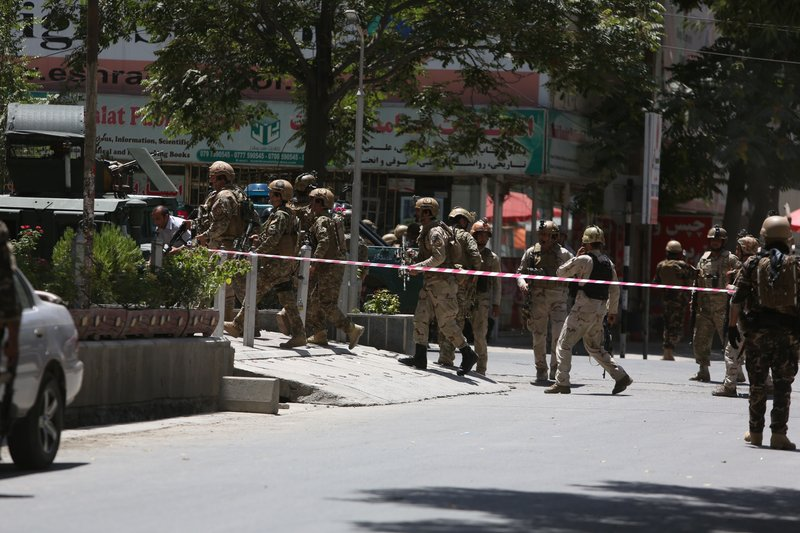 Afghan police: Car bombing targets Iraq Embassy in Kabul