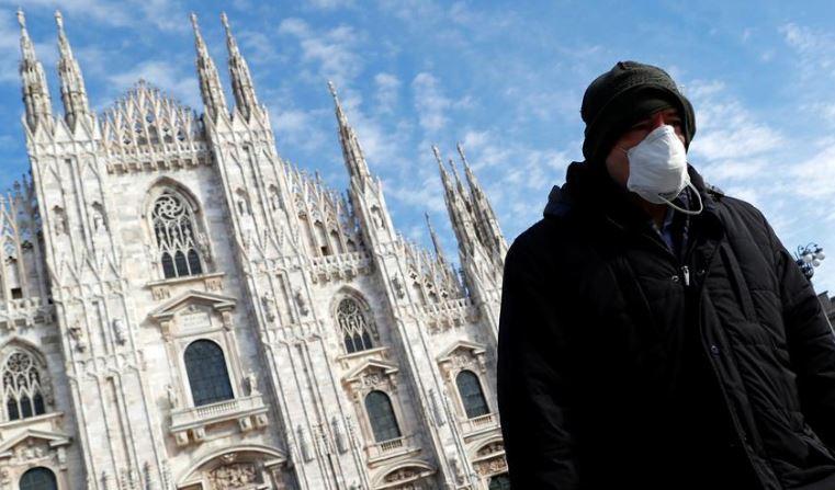 Coronavirus death toll jumps to 107 in Italy, all schools shut