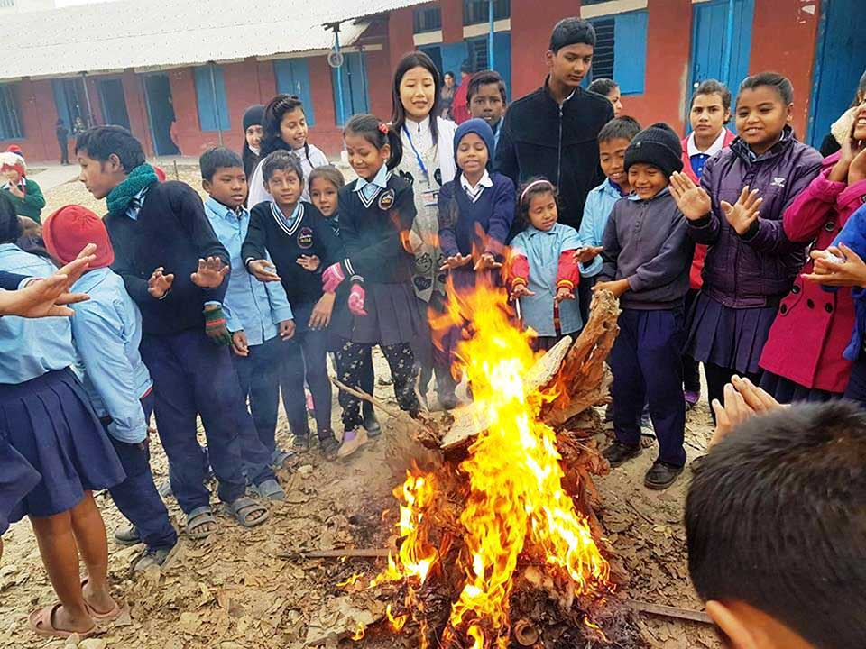 Country feels the chill as temperature drops