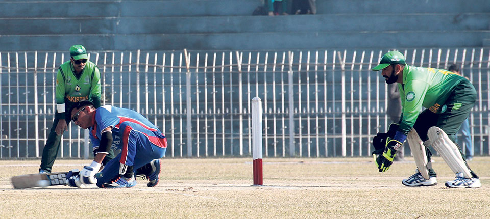 Nepal loses to Pakistan in Blind Cricket World Cup