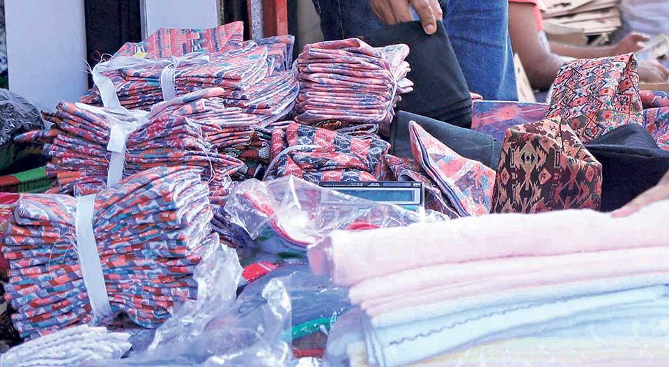 Dhaka items gaining popularity in Tanahun