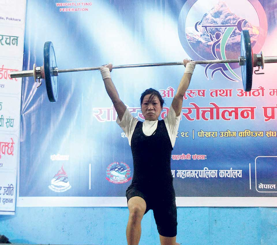 New records galore in National Weight-Lifting