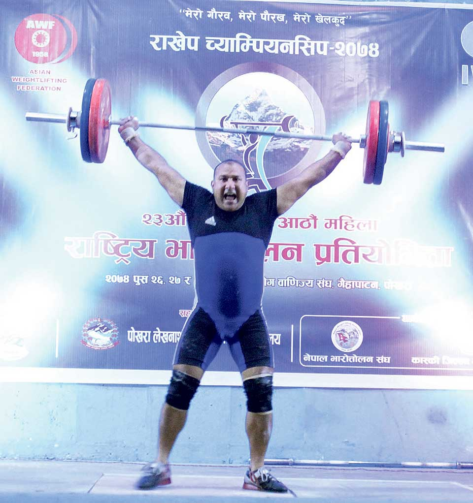 TAC's Shrestha sets new national record