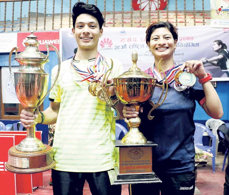 NPC dominates in Table Tennis Tournament