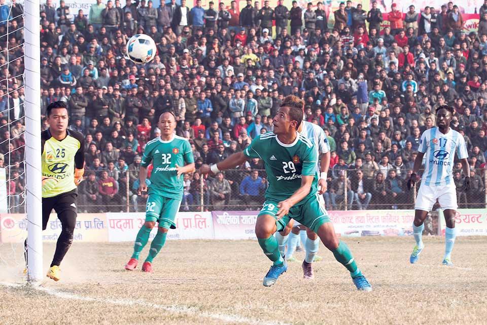 Tribhuvan Army Club into final