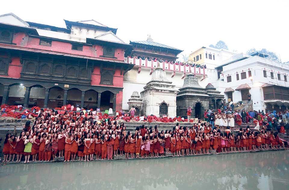 Shree Swasthani  Brata Katha ritual