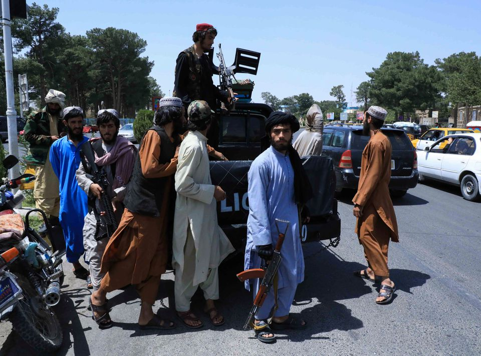 Taliban declares 'war is over' as president and diplomats flee Kabul