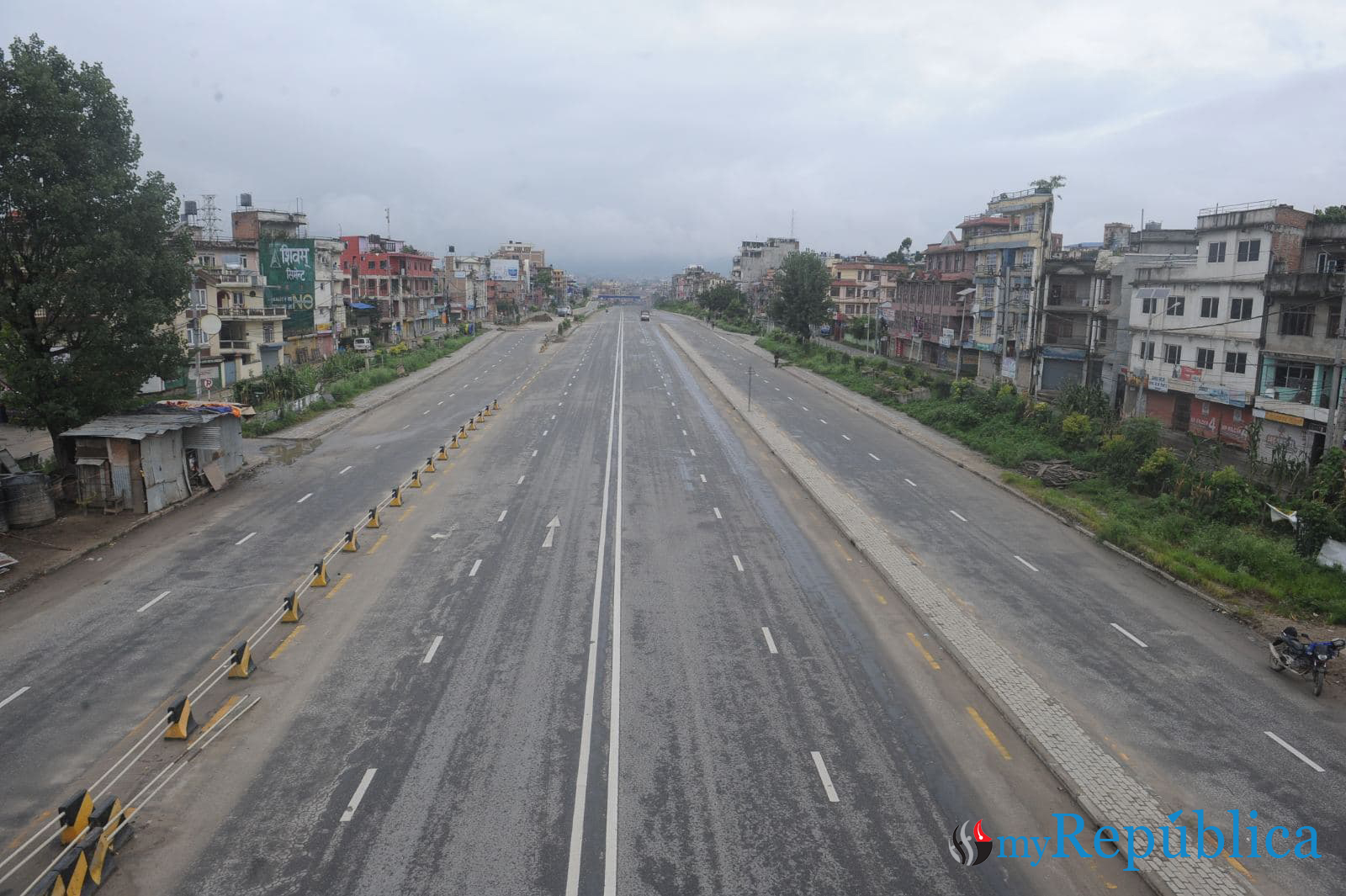 IN PICS: First day of week-long lockdown in Kathmandu Valley