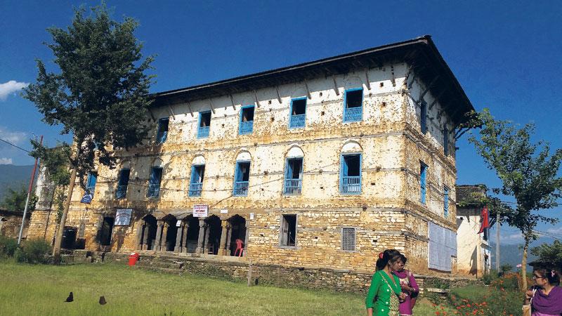 248-year-old Jajarkot palace awaits renovation