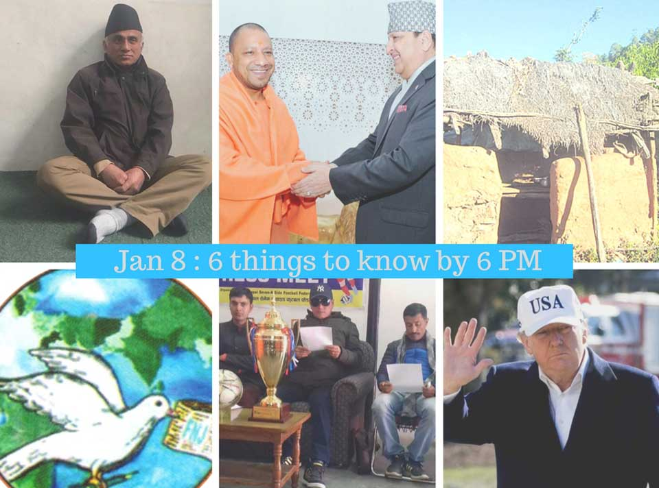 Jan 8: 6 things to know by 6 PM