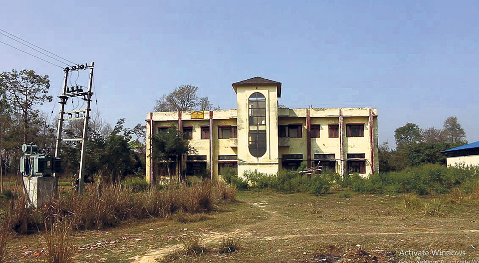 JEMC's printing press in Nepalgunj gathering dust for years
