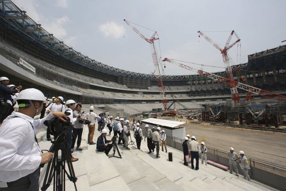 Tokyo Olympic venues make progress with 2 years to go