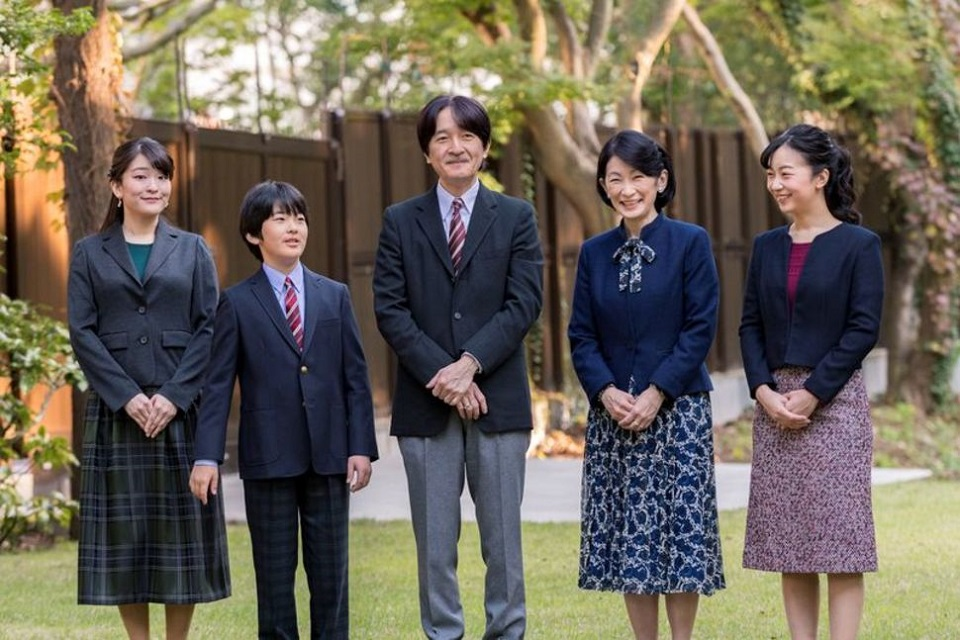 Japan formally proclaims Crown Prince Akishino heir to throne