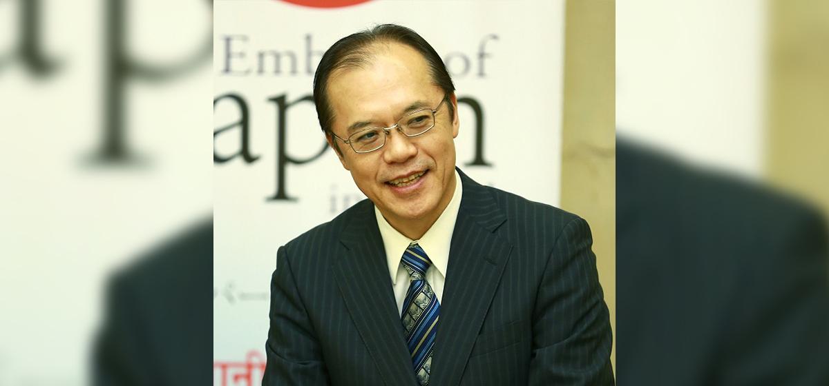 Japanese Ambassador Kikuta congratulates PM Deuba for winning vote of confidence in parliament