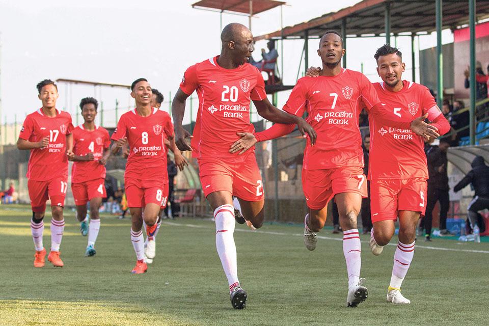 Jawalakhel climbs fifth; Sherpa avoids relegation