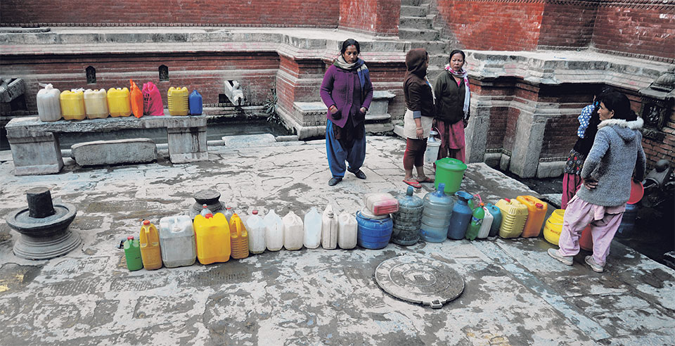 UNHOLY WATER! 16 OUT OF 18 WATER SOURCES POLLUTED IN BHAKTAPUR