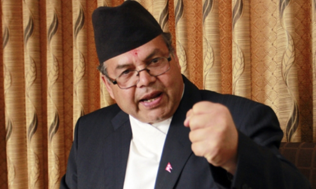 No force can stop polls, says ex-PM Khanal