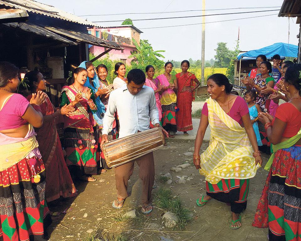 Maghi fever grips Tharu community