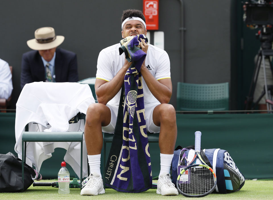 Results on Saturday at Wimbledon