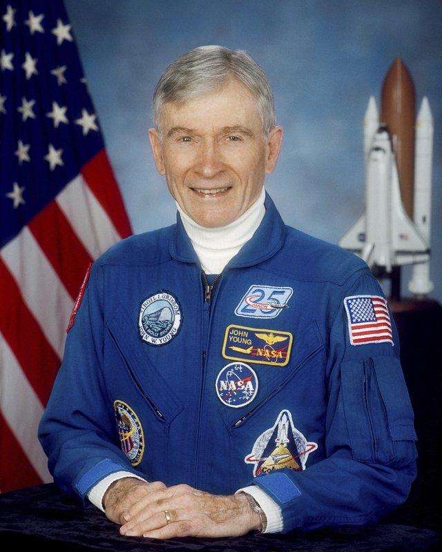NASA: Legendary astronaut, moonwalker John Young has died