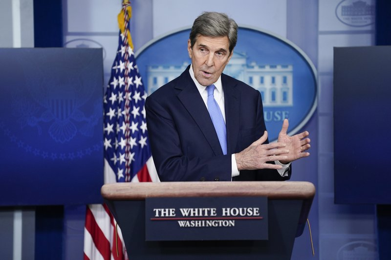 "U.S. envoy Kerry heads to India to try and lift ""climate ambition"""