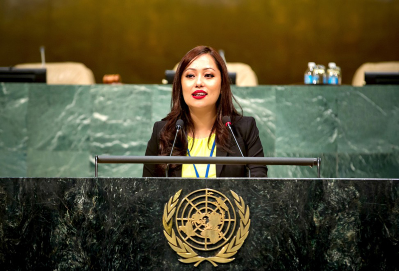Nepal's Jolly Amatya UN Youth Assembly chair