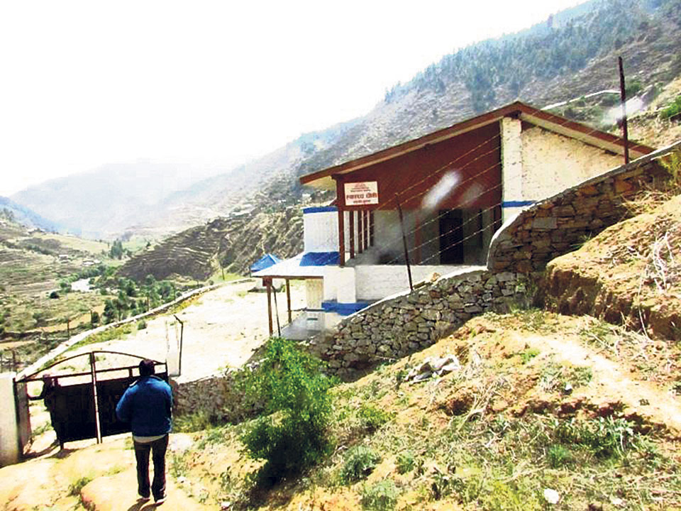 Health workers in Jumla unhappy with new budget