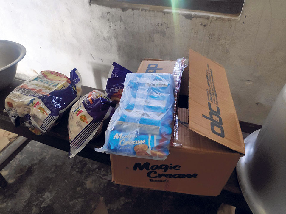Community schools distributing junk food