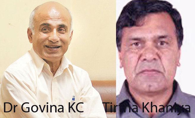 Now Dr KC takes aim at TU VC Khaniya