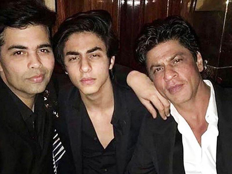 KJo wants to launch SRK's son Aryan