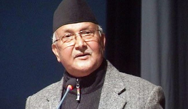 PM Oli calls ministers, secretaries, 'Tell me your plans'