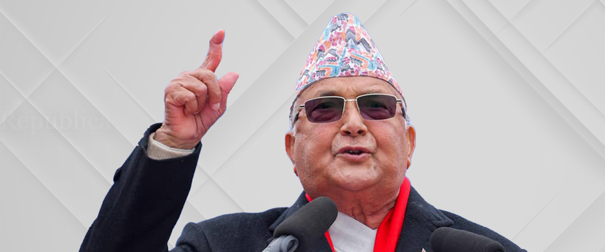 PM Oli to address nation tomorrow