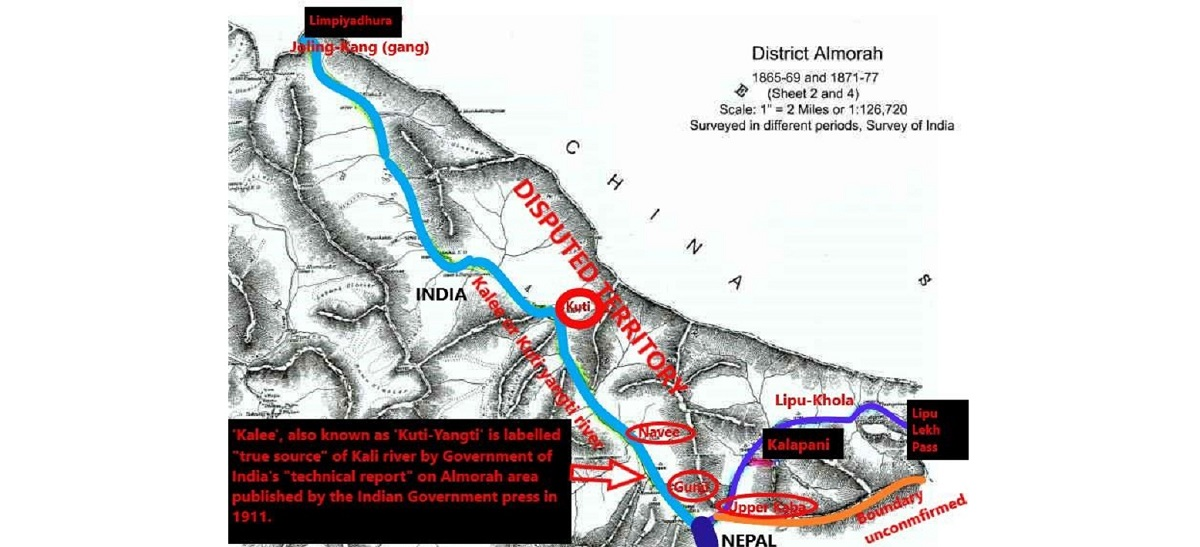 Even India's official documents show that Limpiyadhura is the real source of the Kali River (with video)