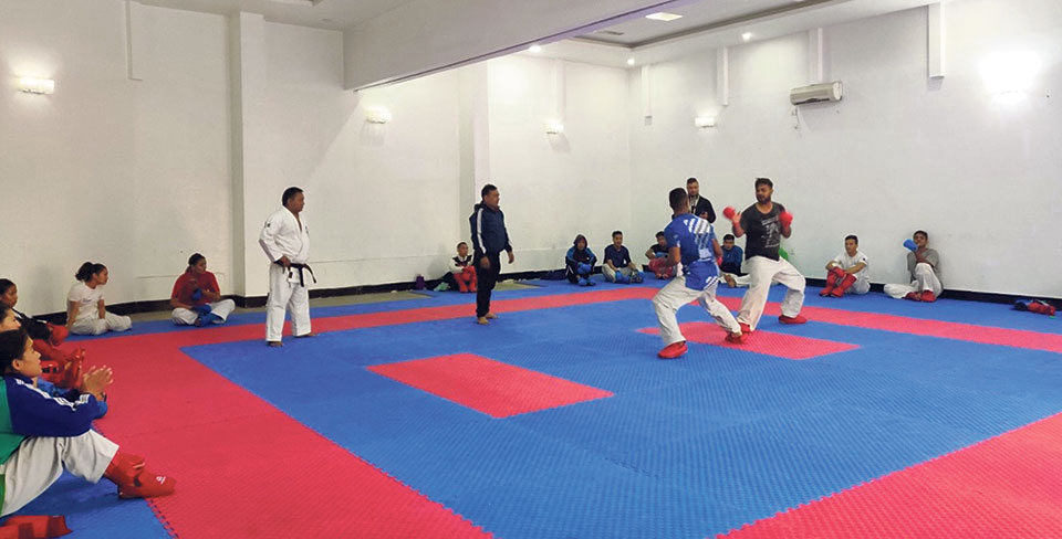 Nepal adamant to improve medals tally in Karate